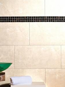 Wandfliese Alabastro beige 30 x 60 cm glasiert, glänzend, rektifiziert, Abr. 2