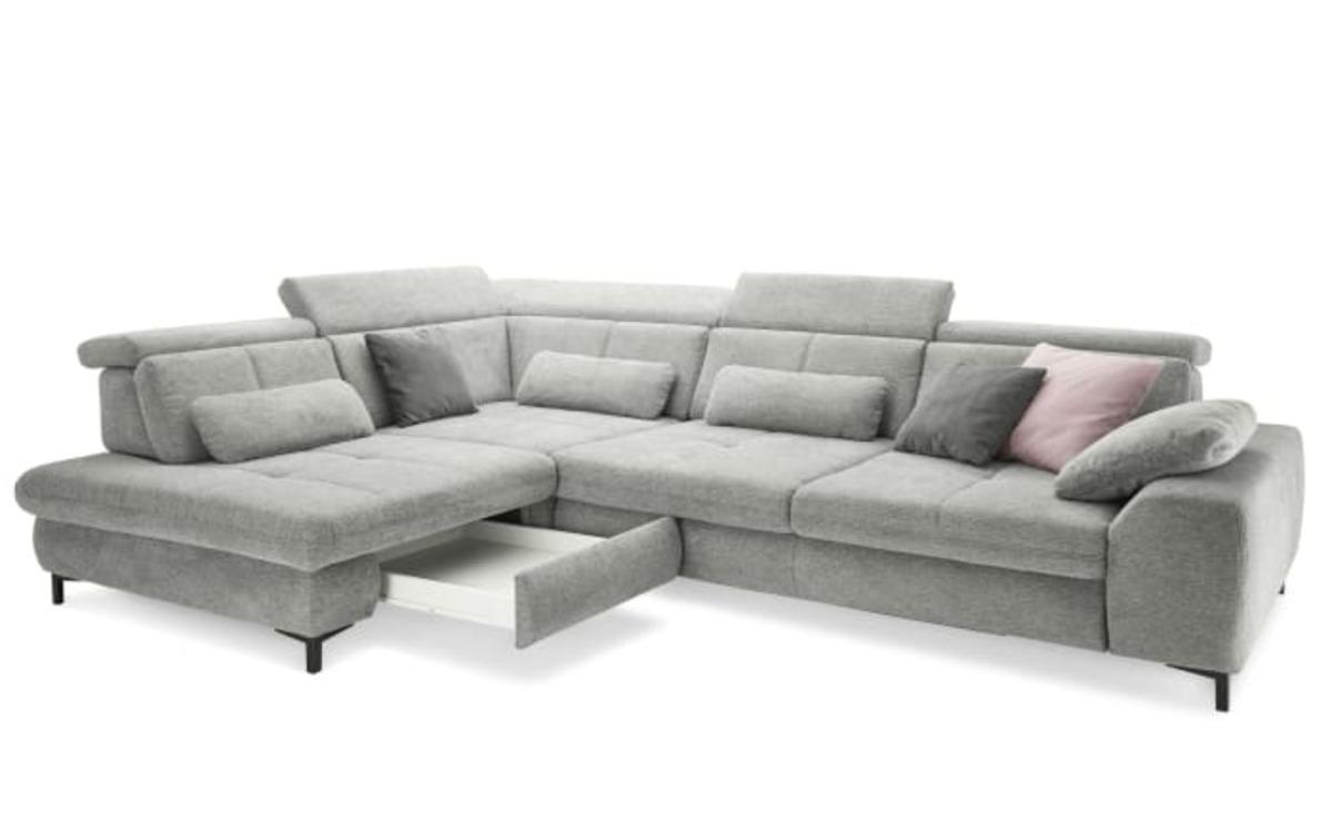 Bild 2 von Wohnlandschaft SO 3400 in grey, inklusive Sitztiefenverstellung und weiteren Funktionen