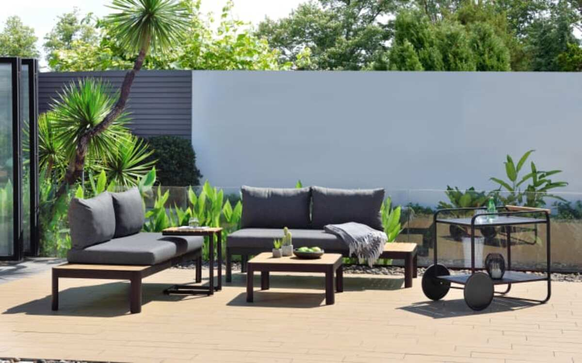 Bild 2 von HPI Garten - Garten-Sofa Portals in Batman black