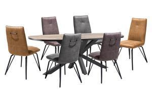 Habufa - Stuhlgruppe Bella/Sardinie in Driftwood Nachbildung