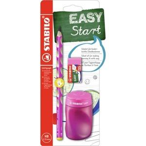 STABILO EASYgraph - Schulset HB für Linkshänder - pink