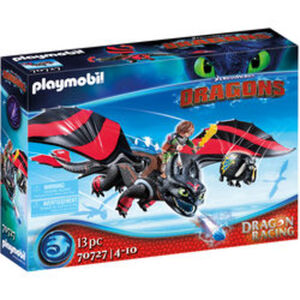 PLAYMOBIL® Dragons 70727 Dragon Racing: Hicks und Ohnezahn