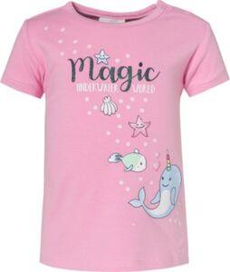 Baby T-Shirt , Unterwasserwelt pink Gr. 80 Mädchen Kinder