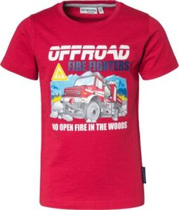 T-Shirt , Fahrzeuge rot Gr. 92/98 Jungen Kleinkinder