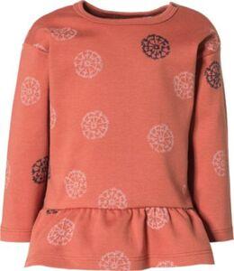 Baby Langarmshirt , Organic Cotton dunkelgrau Gr. 74 Mädchen Baby