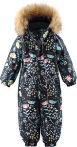 Baby Schneeanzug LAPPI  schwarz Gr. 80 Mädchen Kinder