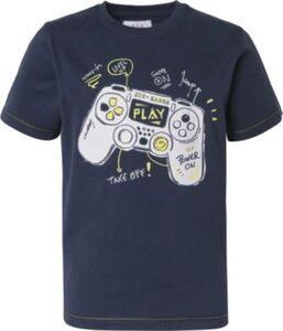 T-Shirt  dunkelblau Gr. 92/98 Jungen Kleinkinder