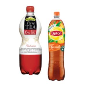 Lipton Ice Tea oder Pfanner Pure Tea