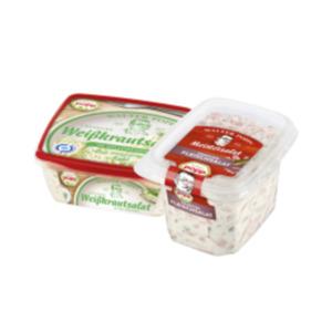Popp Krautsalate oder Fleischsalat