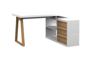 Stylife Eck-Schreibtisch FIRST OFFICE