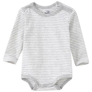 Baby Langarmbody mit Streifen