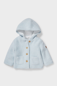 C&A Baby-Jacke-Glanz-Effekt, Blau, Größe: 68