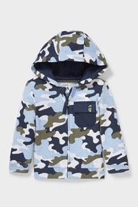 C&A Baby-Sweatjacke mit Kapuze-Bio-Baumwolle, Blau, Größe: 62