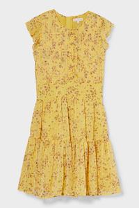 C&A Kleid, Gelb, Größe: 104