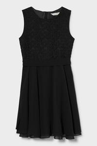 C&A Kleid-festlich, Schwarz, Größe: 146