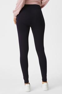 C&A Umstands-Leggings-Bio-Baumwolle, Blau, Größe: XS