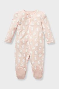 C&A Baby-Schlafanzug-Bio-Baumwolle, Rosa, Größe: 74