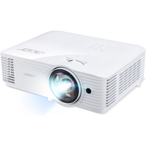 Acer S1386WHn Kurzdistanz Beamer - HD WXGA, 3.600 ANSI Lumen, 20.000:1 Kontrast, 2x Zoom, HDMI