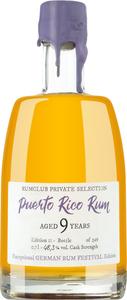 Rumclub Berlin Private Selection Edition 11 Puerto Rico Rum 9 Jah..., Puerto Rico, trocken, 0,7l