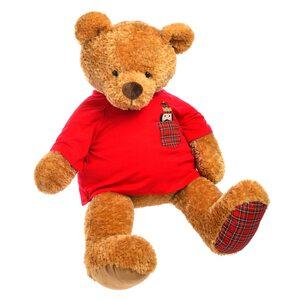 Stofftier Teddy, L:110cm, braun