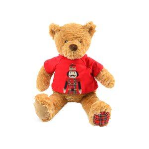 Stofftier Teddy, L:48cm, braun