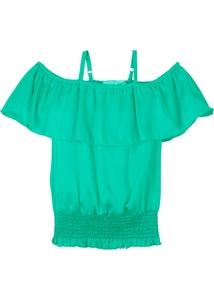 Mädchen Off-Shoulder Bluse