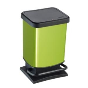 rotho Treteimer PASO grün/schwarz