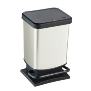rotho Treteimer PASO 20 l Kunststoff coolwhite