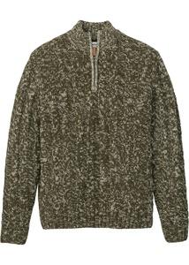 Troyer Pullover mit Reißverschluss