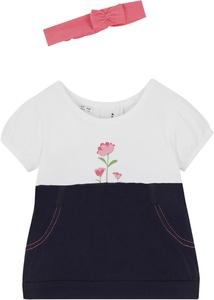 Baby Kleid + Haarband (2-tlg. Set) Bio Baumwolle
