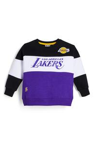 "Violetter ""NBA LA Lakers"" Rundhalspullover (kleine Jungen)"