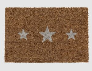 Fußmatte Kokos Sterne