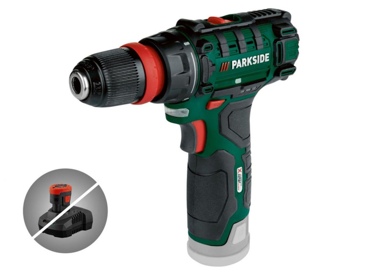 Bild 1 von PARKSIDE® Akku-Bohrschrauber »PBSA 12 D4«, ohne Akku und Ladegerät