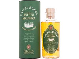 Sibona Grappa Riserva Botti da Madeira 40% Vol