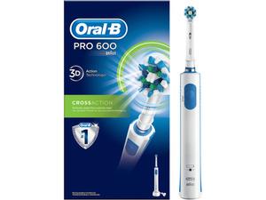 Oral-B Pro 600 mit 1 Cross Action Aufsteckbürste