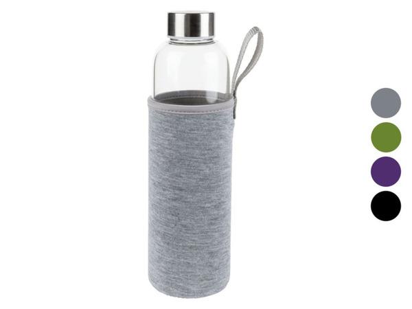 ERNESTO® Trinkflasche mit Neoprenhülle