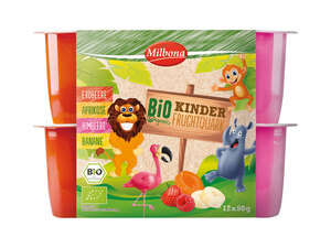 Milbona Bio Kinder-Fruchtquark