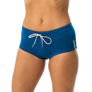 Sportbikini-Hose Slip Meg Aquafitness Damen blau