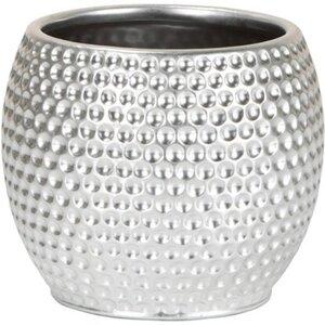 Scheurich Übertopf 732 Ø 17 cm x 16 cm Platinum Silver