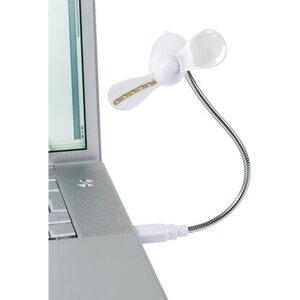 CMI USB-Ventilator Ø 8,5 cm Weiß