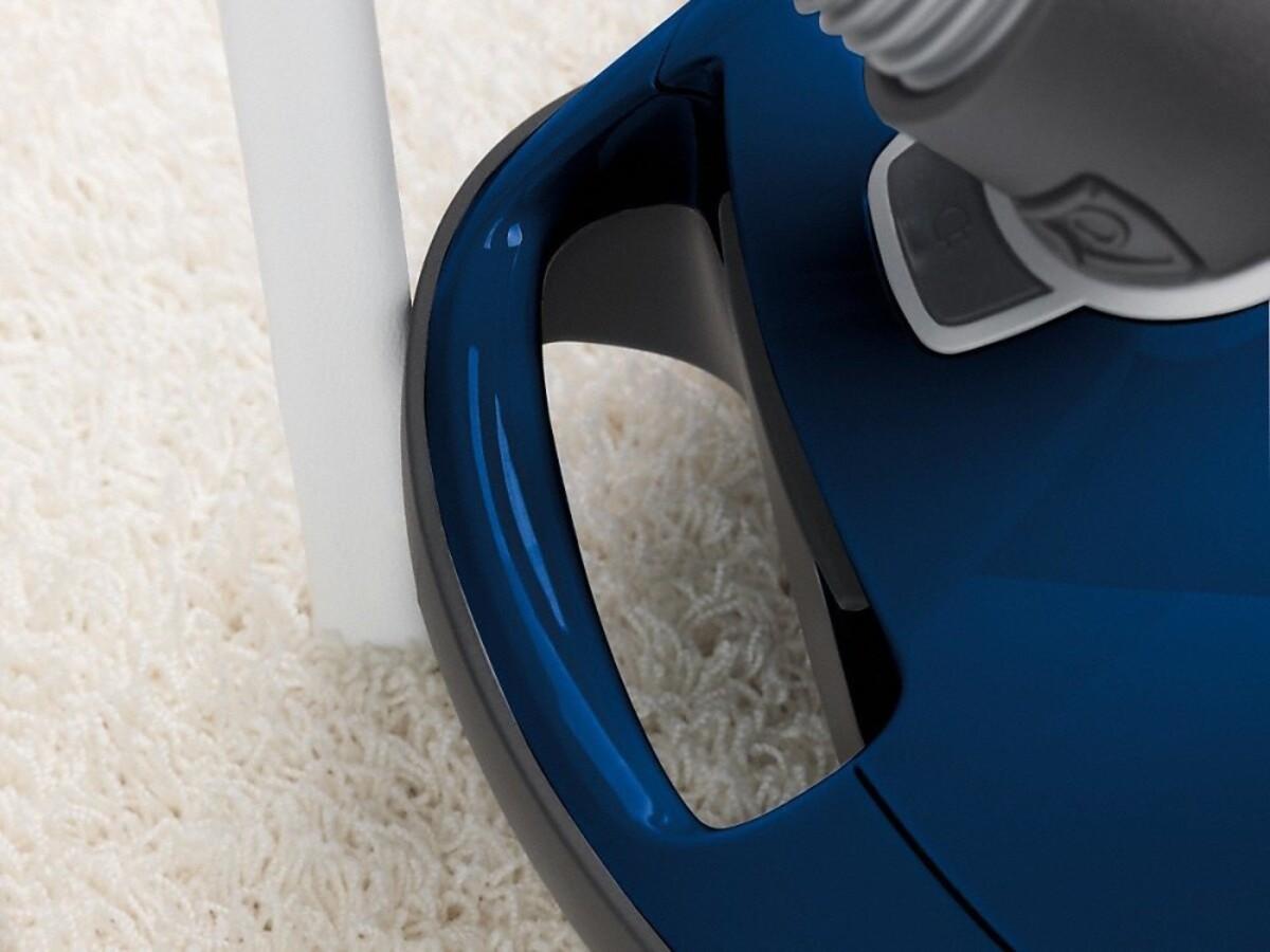 Bild 4 von MIELE Complete C3 Select marineblau Bodenstaubsauger (890 W, 12 m Aktionsradius, AirClean-Filter, Universal-Bodendüse, mit Beutel, Staubbeutelwechsel-Anzeige)