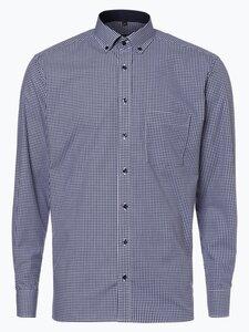 Eterna Modern Fit Herren Hemd Bügelfrei blau Gr. 42