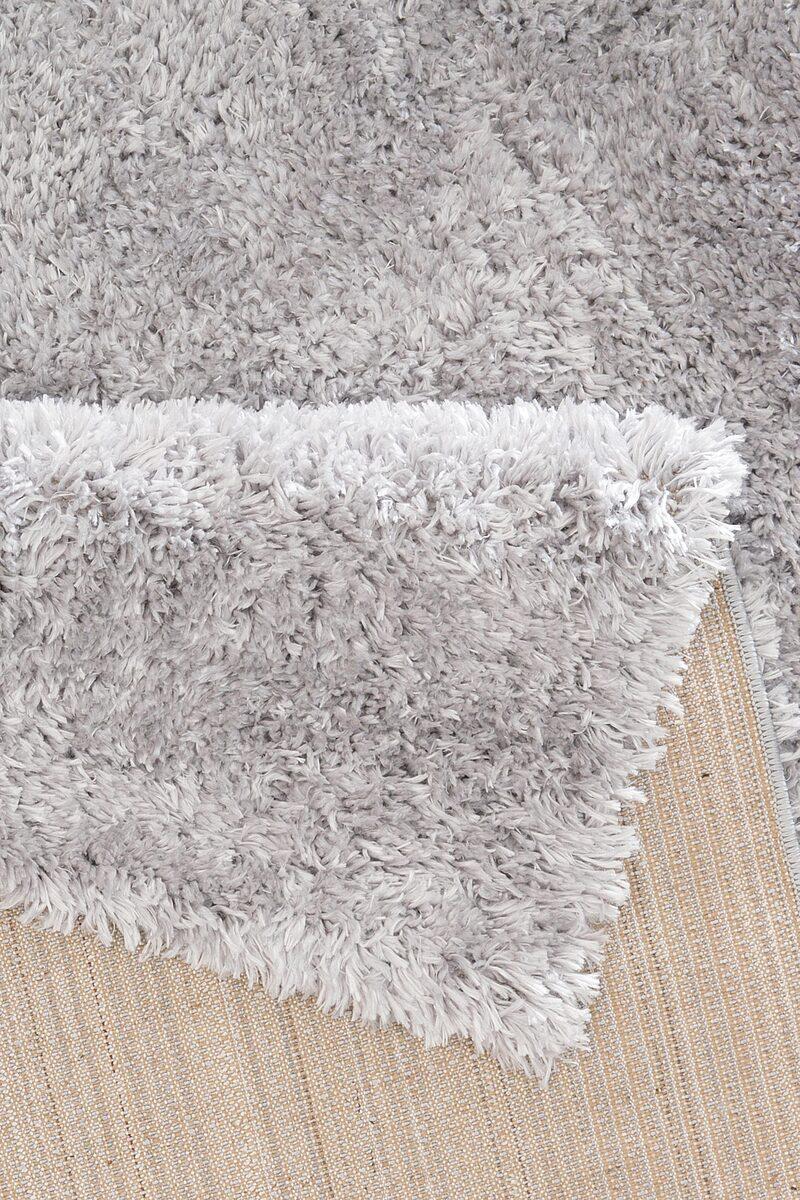 Bild 2 von Hochflor-Teppich »Boldo«, my home, rechteckig, Höhe 50 mm, besonders weich durch Microfaser, Wohnzimmer