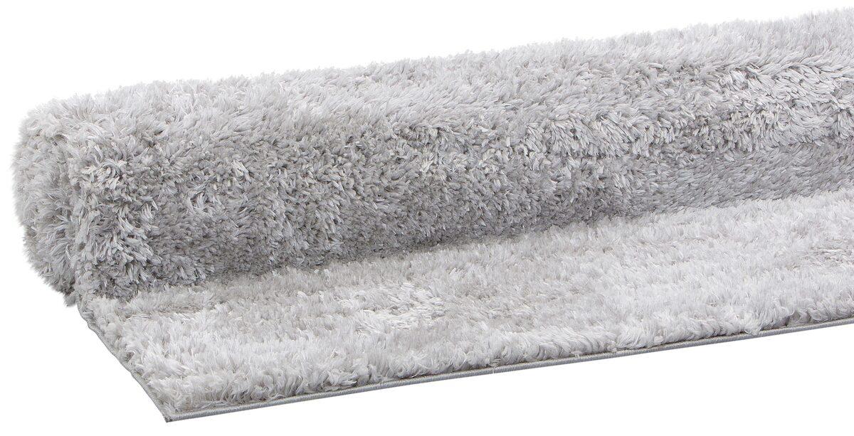 Bild 3 von Hochflor-Teppich »Boldo«, my home, rechteckig, Höhe 50 mm, besonders weich durch Microfaser, Wohnzimmer