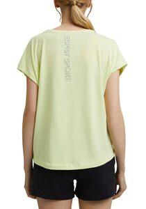 esprit sports T-Shirt mit Branding auf dem Rücken