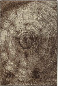 Teppich »Austin«, Bruno Banani, rechteckig, Höhe 14 mm, Baumstamm-Design, Wohnzimmer