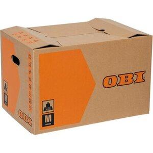 OBI Umzugskarton M 60 l 30 kg 52 cm x 35 cm x 33 cm