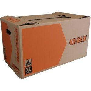 OBI Umzugskarton XL 126 l 45 kg 75 cm x 42 cm x 40 cm