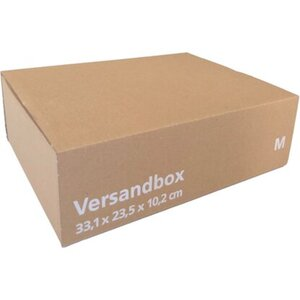 Versandkarton M 33,1 x 23,5 x 10,2 cm