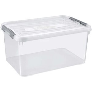 Best Freizeitmöbel Aufbewahrungsboxen Curver Handy+ 3-er Set Transparent 50 l